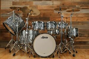 LUDWIG CLUB DATE SHELL BANK DRUM KIT, SKY BLUE PEARL, BUILD YOUR SET UP