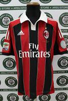 Maglia calcio MILAN MONTOLIVO TG L 2012/13 shirt trikot camiseta maillot jersey