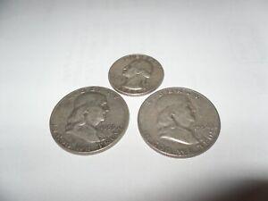 franklin halves plus 90% silver