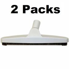 "Premium 12"" Bare Floor Brush for Central Vacuum & Portable Lt Gray Fits All  2PK"