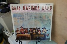 BAJA MARIMBA BAND SELF TITLED  A&M RECORDS SP 104 VG+