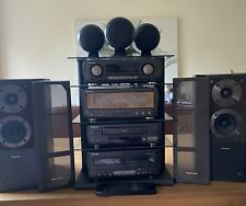 More details for rare technics st ca-1080/1060 with stand and surround sound speakers