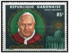 Timbre Religion Pape Gabon PA42 * lot 21768