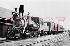 Colorado & Southern (C&S) Engine 6 with train at Como, CO in 1929 - 8x10 Photo