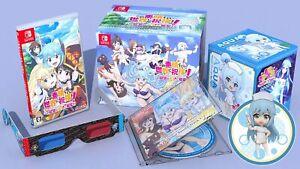 Nintendo Switch KonoSuba Love for this Tempting Attire Limited Edition Japan New