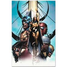 MARVEL Comics Limited Edition New Avengers (18) Numbered Canvas Art