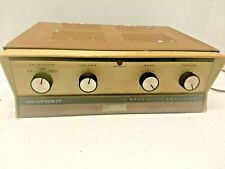 Vintage Heathkit Model Aa-13 Mono 14 Watt Hi Fi Tube Mono Amp Amplifier