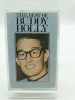 Buddy Holly - The Best Of - Cassette 1986 HSC 3199