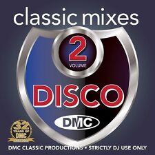 DMC Classic Mixes - Disco Vol 2 Music CD Megamixes & Remix