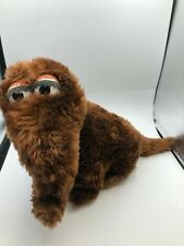 Sesame Street Applause Mr Snuffle Upagus Brown Elephant Plush Stuffed Toy Animal