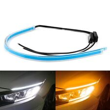 Signal Lights Strip Knight Headlight Sequential Flowing Amber Turn Slim Flexible