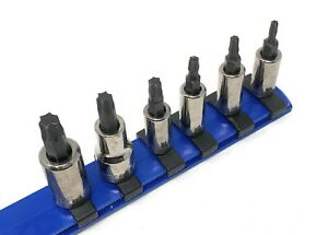 New Kobalt Tools 6-piece Torx socket set T15 to T45   Made in USA