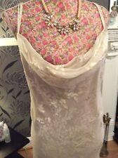 "Monsoon Acapulco Sharif Silk Long 62"" Eve Dress Size 18 Gc   Hols"