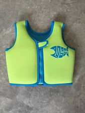 Zoggs Swim Jacket - Green And Blue 2-3 Years