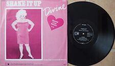Maxi-Single:  Divine – Shake It Up RARE GER 1983 Electronic