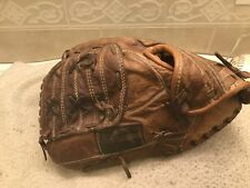 "Nokona AMG-100K 11"" Kangaroo Baseball Softball Glove Left Hand Throw Rare Glove"