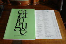 JEAN-BAPTISTE DE PROYART CATALOGUE-RARE BOOKS-WITH PRICE LIST INCLUDED