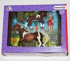 42271 Horse Show Jumping Course Set Schleich * New Boxed *