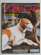 L'OBJET D 'ART N° 288 /Lyon: faïences /Poussin,Salvator Rosa et paysage français