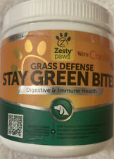 Zesty Paws Stay Green Bites for Dogs - Grass Burn Soft Chews for Lawn Spots