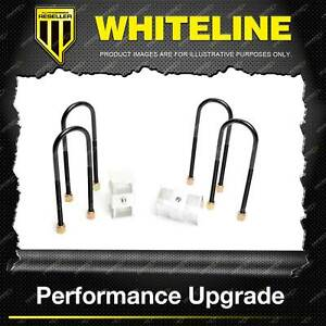 "Whiteline Rear 2.5"" Lowering Block Kit for Holden Rodeo KB KB TFR TFS"