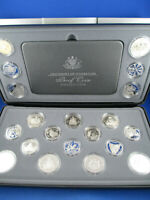 2001 CENTENARY OF FEDERATION COLLECTION 20 COIN PROOF SET. COMPLETE