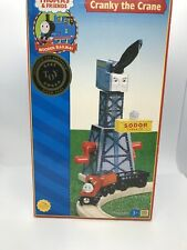 Thomas & Friends  Wooden Railway Cranky the Crane With Cargo Car And Cargo