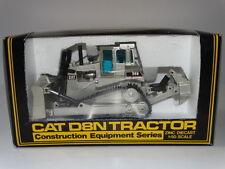 NZG CAT D8N Tractor Silver 1:50 Scale Diecast Zinc Construction Model 233