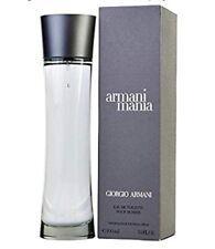 Armani Mania By Giorgio Armani Eau De Toilette For Men 3.4 oz 100 ml New Sealed
