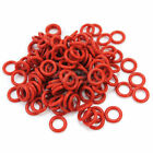 120Pcs Rubber O-Ring Switch Dampeners Dark Red For Cherry MX keyboard Dampers
