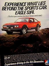 1981 Eagle SX 4 Original Print Ad-Your Next Two Sport Machines-8.5 x 10.5""
