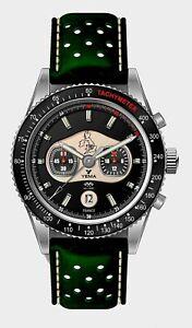 Yema Rallygraf MG Car Club Chronograph Watch Limited Edition UK -- New In Box