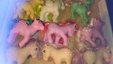 Vintage Little Pony (G1) My ponis paquete, incluido exclusivo de Reino Unido