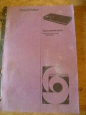 Bang and Olufsen Beocord VX5000  Service Manual
