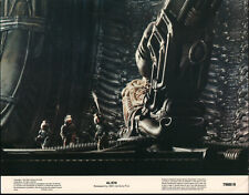 ALIEN orig 1979 glossy lobby card RIDLEY SCOTT 11x14 movie poster FIRST PRINTING