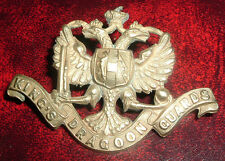 CAP BADGES-ORIGINAL VICTORIAN/QVC 1st KINGS DRAGOON GUARDS GOOD BADGE