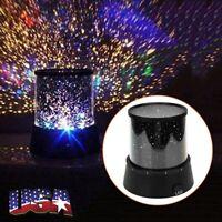 Romantic Starry Night LED Sky Projector Lamp Star Light Cosmos Master Decor Gift