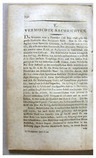 1798 - VANCOUVER AND MALESPINA - Pacific NW Dispute -DE