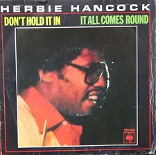 """Vinyle 45T Herbie Hancock """"Don't hold it in"""""""
