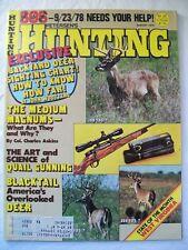 """Petersen's Hunting"" Magazine - August 1978"