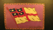 "Early 1900's felt flag 5"" by 8"" of New Zealand"