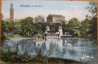 1910 Postcard: Zwingerteich - Dresden - Saxony, Germany