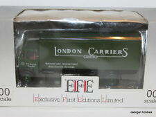 EFE Exclusive First Editions E10501 AEC Mammoth 6 Box Van `London Carriers'