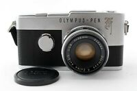 N-Mint🌟 Olympus Pen F 35mm Half Frame Film Camera + Zuiko 38mm F/1.8 from Japan