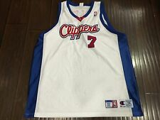 RARE🔥 Champion NBA Los Angeles Clippers Authentic Sewn Jersey 56 Sly Exclusive