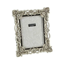 "Silver Resin Antique Effect Photo Frame 6x8"" Photograph Horizontal or Portrait"