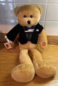 "Chantilly Lane 26"" Tuxedo Teddy Bear Singing Musicals NWT!"