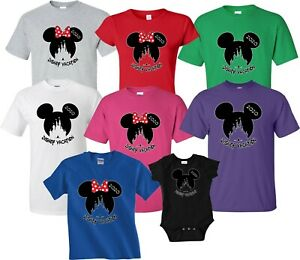 2021 NEW DISNEY CASTLE FAMILY VACATION T-SHIRTS ALL SIZES& COLORS