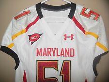 Maryland Terrapins Football Team game Jersey 2011