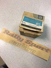 "NOS GM # 474556 Decal fender ""Rally Sport camaro "" Chevrolet Camaro 78-79"